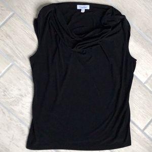 Calvin Klein Black Sleeveless Blouse